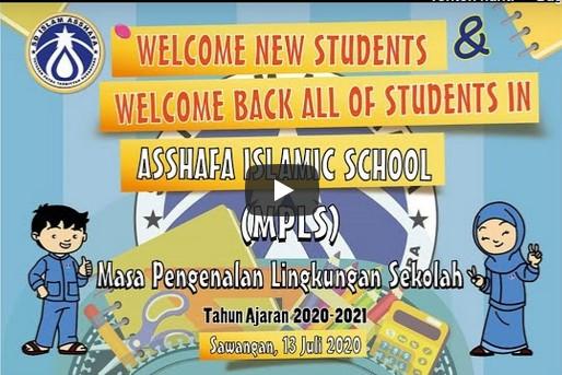 Masa Pengenalan Lingkungan Sekolah (MPLS)  SDI Asshafa 2020-2021